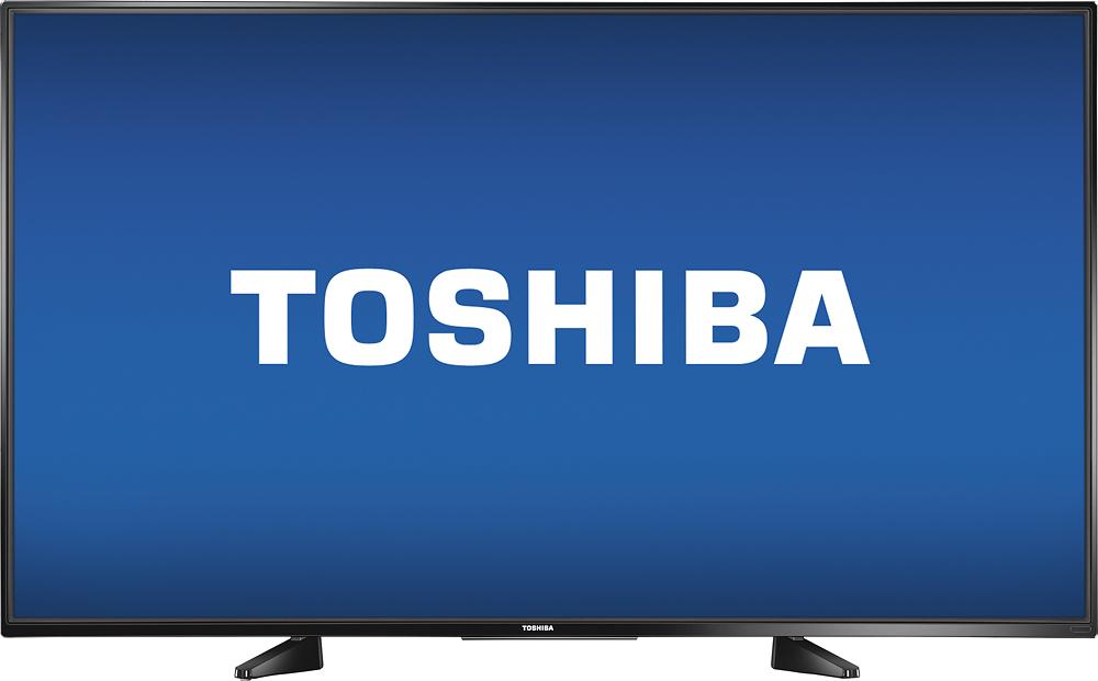 "Toshiba - 55"" Class (54.6"" Diag.) - Led - 1080p - With Chromecast Built-in - Hdtv - Black"