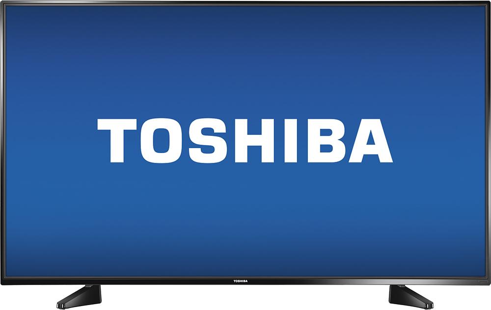 """Toshiba - 43"""" Class (42.5"""" Diag.) - Led - 1080p - Black"""