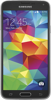 Samsung - Galaxy S 5 Cell Phone - Charcoal Black (Sprint)