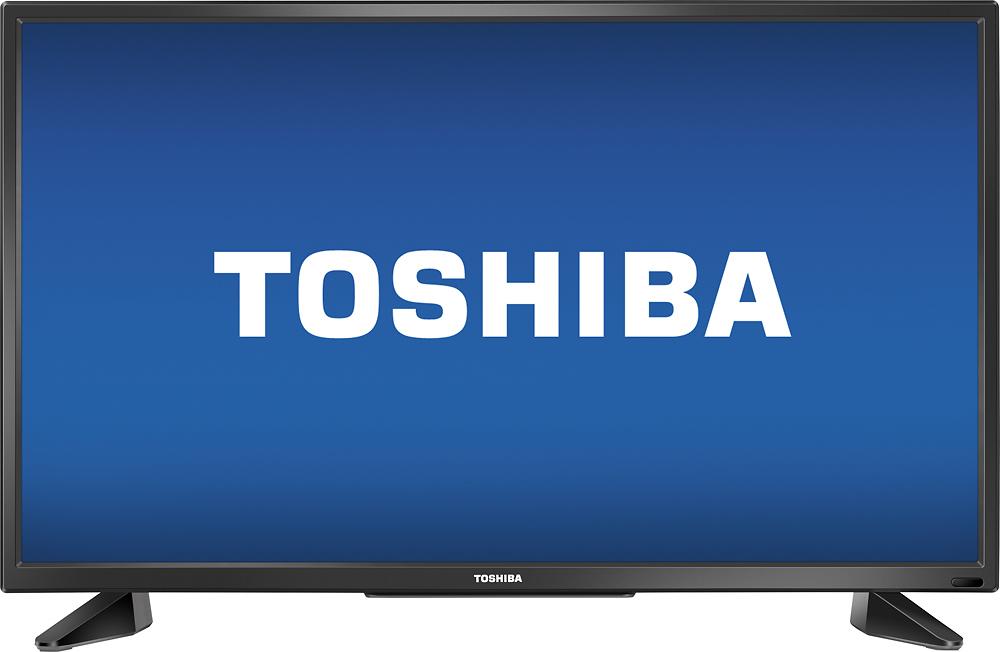 "Toshiba - 32"" Class (31.5"" Diag.) - Led - 720p - With Chromecast Built-in - Hdtv - Black"