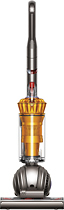 Dyson - DC40 Multi Floor HEPA Bagless Upright Vacuum - Iron/Yellow