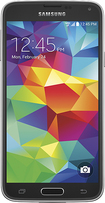 Samsung - Galaxy S 5 4G LTE Cell Phone - Charcoal Black (Verizon Wireless)