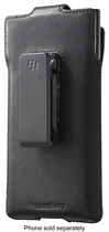 Blackberry - Holster For Blackberry Priv Cell Phones - Black