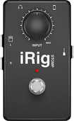 IK Multimedia - iRig STOMP Stompbox Guitar Interface for Select Apple® Devices - Black