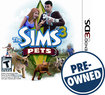 The Sims 3: Pets — PRE-OWNED - Nintendo 3DS