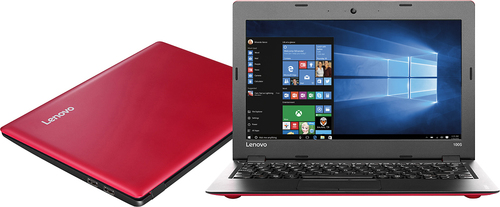 Lenovo - IdeaPad 100s 14 Laptop - Intel Celeron - 2GB Memory - 64GB eMMC Flash Memory - Silver