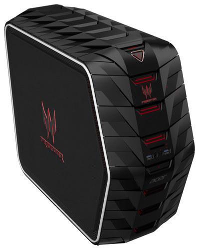 Acer - Aspire Predator Desktop - Intel Core i7 - 16GB Memory - 2TB Hard Drive + 256GB Solid State Drive - Black