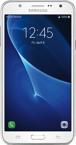 Boost Mobile - Samsung Galaxy J7 (2016) 4G LTE with 16GB Memory Prepaid Cell Phone
