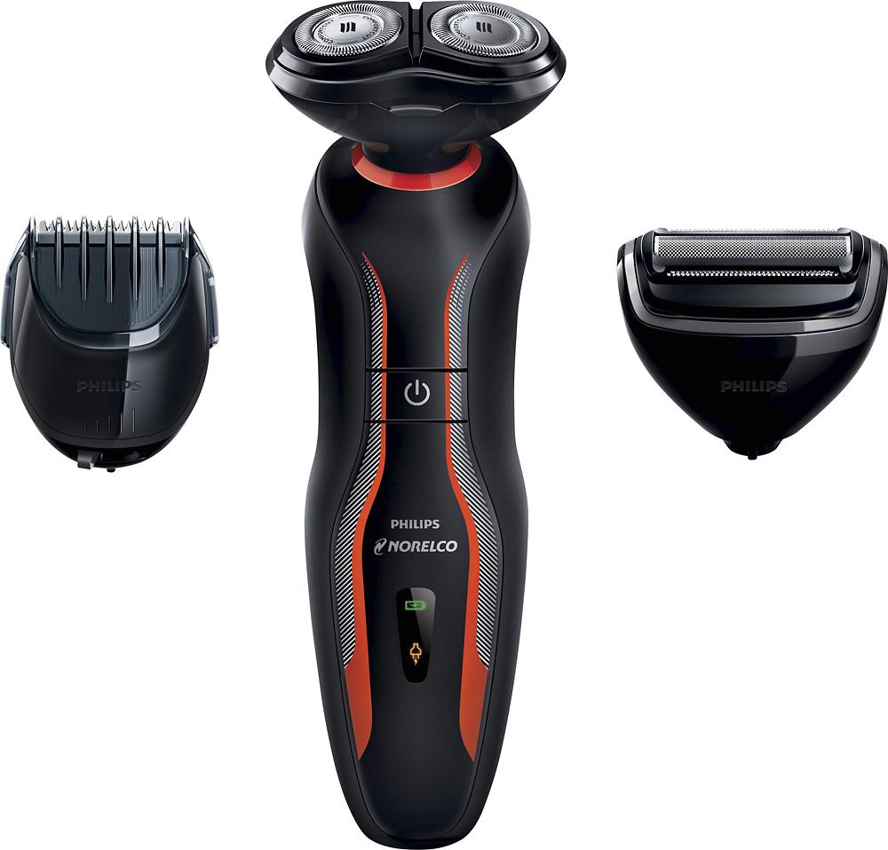 Philips Norelco - Click&Style Trimmer - Black/orange