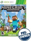 Minecraft: Xbox 360 Edition - PRE-OWNED - Xbox 360