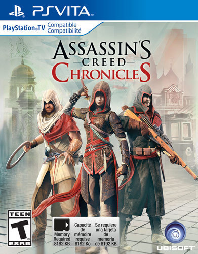 Assassin's Creed Chronicles Trilogy Pack – PS Vita