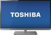 "Toshiba - 32"" Class (31-1/2"" Diag.) - LED - 1080p - 60Hz - HDTV - Gun Metal"