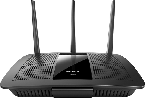 Linksys - MAX-Stream AC1900 Dual-Band Wireless Router with 4-Port Gigabit Ethernet Switch