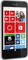 Virgin Mobile - Nokia Lumia 635 4G with 1GB Memory No-Contract Cell Phone - White