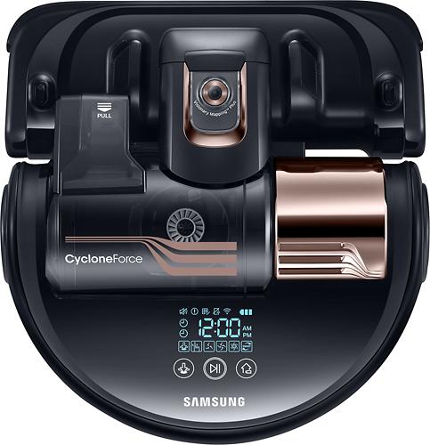 Samsung - POWERbot Turbo Robot Vacuum - Obsidian Copper