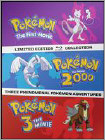 Bd-pokemon Movies 1 To 3 (bd) (blu-ray Disc) (3 Disc) (steel Book) (limited Edition) 4832702