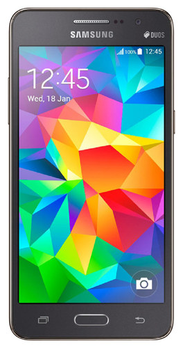 Samsung - Galaxy Grand Prime Duos with 8GB Memory Cell Phone (Unlocked) - Gray
