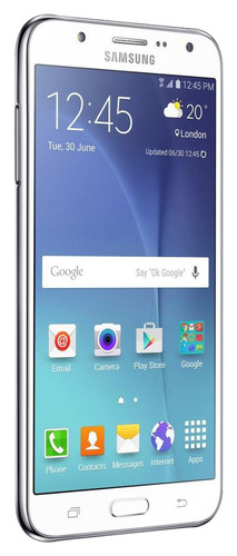 Samsung - Galaxy J7 4G with 16GB Memory Cell Phone (Unlocked) - White