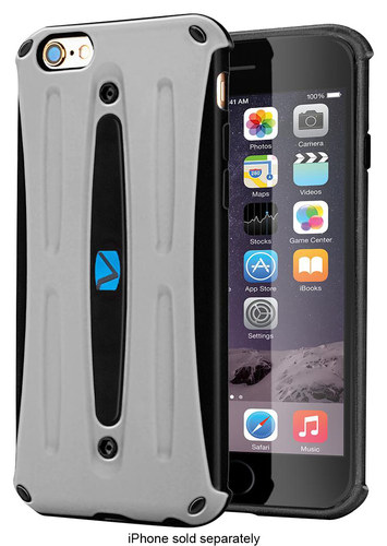 Volo - Hard Shell Case for Apple® iPhone® 6 and 6s - Gray