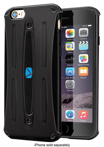 Volo - Hard Shell Case for Apple® iPhone® 6 & 6s - Black
