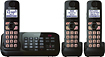 Panasonic - Dect 6.0 Plus Expandable Cordless Phone System