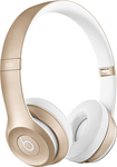 Beats by Dr. Dre - Geek Squad Certified Refurbished Solo 2 On-Ear Wireless Headphones - Gold