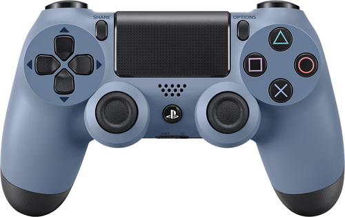 Sony - DUALSHOCK 4 Limited Edition Uncharted 4 Wireless Controller for PlayStation 4 - Gray Blue