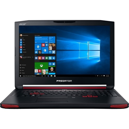 Acer - Predator G9-791-735A 17.3 Laptop - Intel Core i7 - 16GB Memory - 1TB Hard Drive + 128GB Solid State Drive - Black