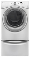 Amana - 7.3 Cu. Ft. 5-cycle Electric Dryer - White