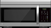 LG - 1.6 Cu. Ft. Over-the-Range Microwave - Stainless Steel