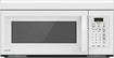 LG - 1.6 Cu. Ft. Over-the-Range Microwave - Smooth White