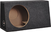 "Metra - 12"" Single Ported Subwoofer Enclosure for Most Trucks and SUVs - Charcoal"