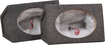 "Metra - 6"" x 9"" Single Sealed Speaker Enclosure (Pair) - Charcoal"