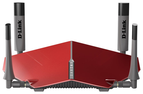 D-Link - AC3150 Ultra Wireless-AC Router - Red