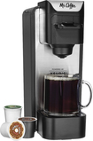Mr. Coffee - Single-cup Coffeemaker - Silver/black 4848900