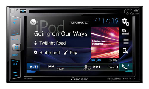 Pioneer - 6.2 - CD/DVD - Built-in Bluetooth - Apple® iPod®- and Satellite-Radio Ready - In-Dash Receiver - Black