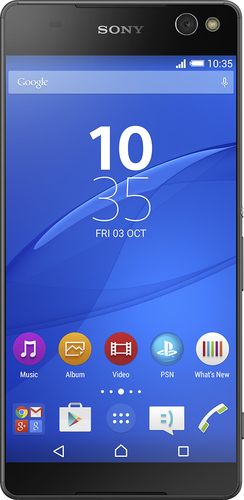 Sony - Xperia C5 Ultra 4G LTE with 16GB Memory Cell Phone (Unlocked) - Black