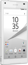 Sony - Xperia Z5 Compact 4G LTE with 32GB Memory Cell Phone (Unlocked) - White