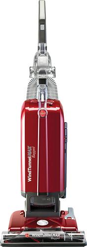 Hoover - WindTunnel MAX HEPA Upright Vacuum - Garnet Metallic