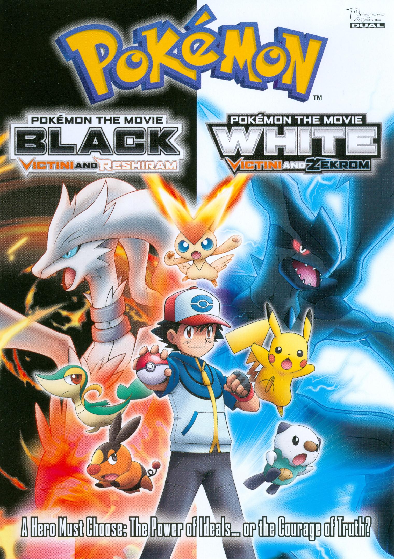 Pokemon The Movie: Black/pokemon The Movie: White [2 Discs] - Dvd