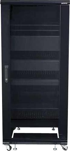 Sanus - Component 100 Series 27u A/v Rack - Black