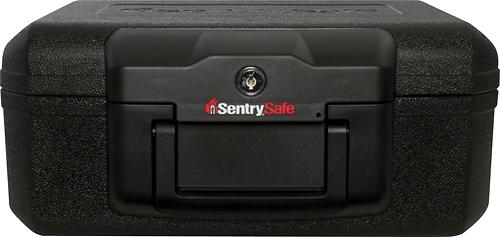 SentrySafe - 0.2 Cu. Ft. Fire Chest - Black