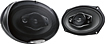 "Kenwood - Performance Series 6"" x 9"" 5-Way Car Speakers with Polypropylene Cones (Pair) - Dark Gray"