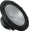 "Kenwood - Performance Series 12"" Single-Voice-Coil 4-Ohm Subwoofer - Black"