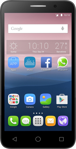 Alcatel - OneTouch POP 3 4G LTE with 8GB Memory Cell Phone (Unlocked) - Soft Gold