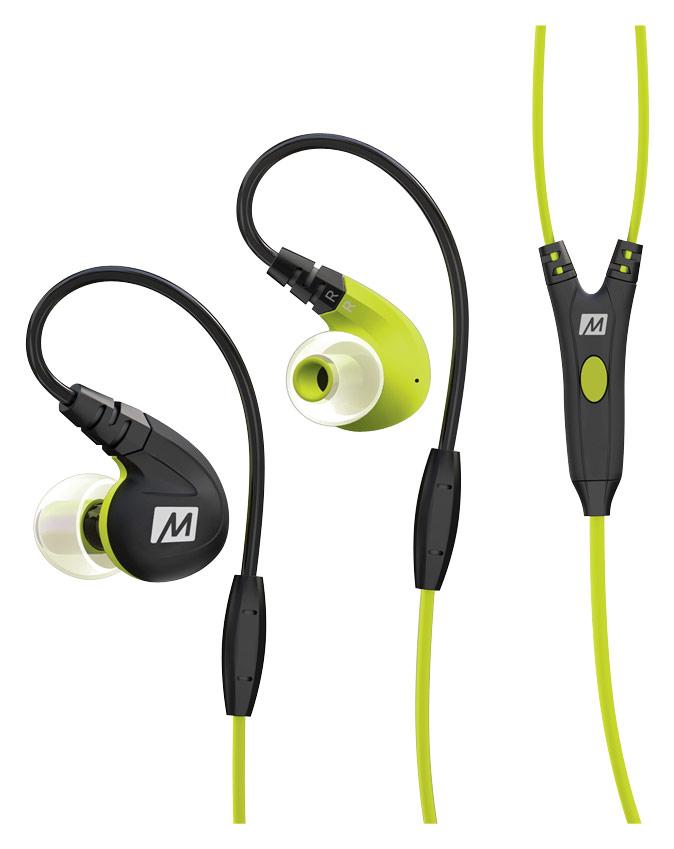 MEE audio - M7P Secure-Fit Earbud Headphones - Green