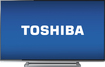 "Toshiba - 50"" Class (49-1/2"" Diag.) - LED - 1080p - 120Hz - Smart - HDTV - Gun Metal Deco"