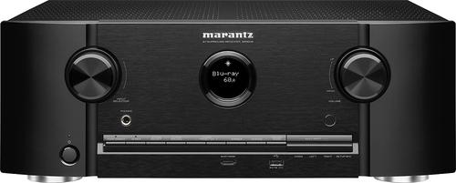 Marantz - 1400W 7.2-Ch. 4K Ultra HD and 3D Pass-Through A/V Home Theater Receiver - Black
