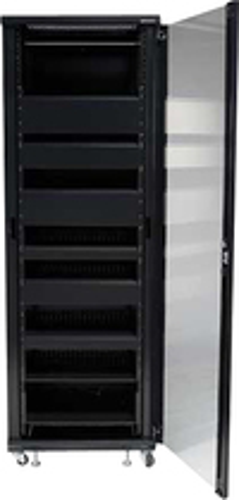 Sanus - Component 100 Series 36U A/V Rack - Black