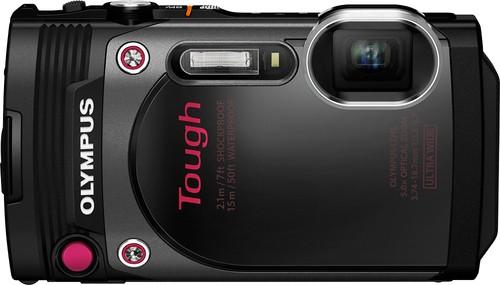 Olympus - TG-870 16.0-Megapixel Digital Camera - Black